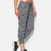 Women's UA Storm Armour® Fleece Lightweight Jogger - Twist | Under Armour US