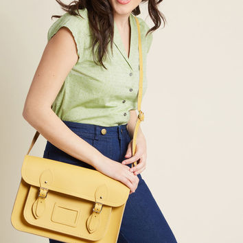 The Cambridge Satchel Company Bag in Mustard - 13""