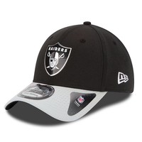 New Era Oakland Raiders 2015 Draft Collection 39THIRTY Stretch-Fit Cap - Adult, Size: M/L (Black)