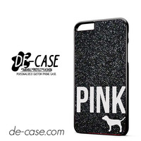 Black Glitter Victoria's Secret DEAL-1863 Apple Phonecase Cover For Iphone 6 / 6S Plus