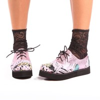 Grave Dancer Creeper ♥ Pink - Shoes