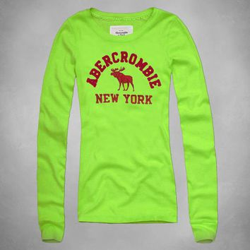 Trendsetter   Abercrombie & Fitch  Women  Fashion Casual Shirt Top