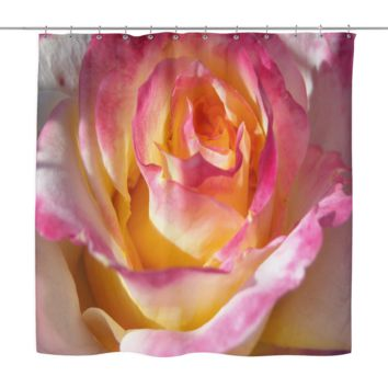 Romantic Blossom Shower Curtain