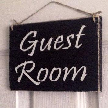 8x6 Guest Room Wood Sign