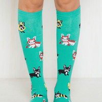 All Dress-Up and Everywhere to Go Socks | Mod Retro Vintage Socks | ModCloth.com