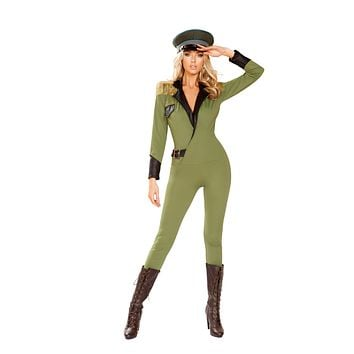 Roma 4924 - 1pc Military Army Babe Costume