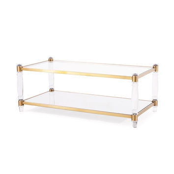 Wilcox Coffee Table, Antique Gold | Overstock.com Shopping - The Best Deals on Coffee, Sofa & End Tables