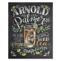 Arnold Palmer Recipe - Print & Canvas