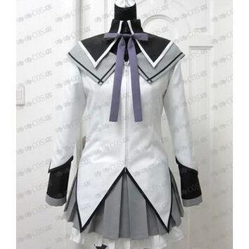 anime Puella Magi Madoka Magica Akemi Homura cosplay costume lolita dress Custom made Any Size