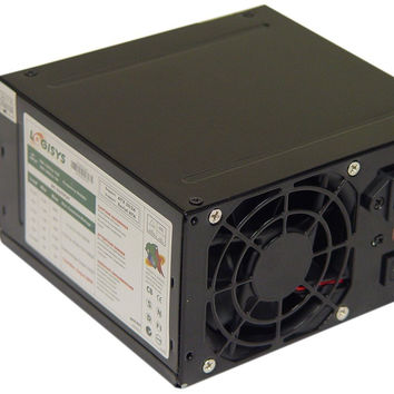 Logisys Corp. 480W 240-Pin Black Beauty ATX 20+4 Power Supply