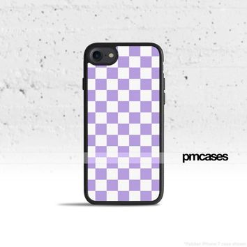 Checkerboard Violet Phone Case Cover for Apple iPhone iPod Samsung Galaxy S & Note