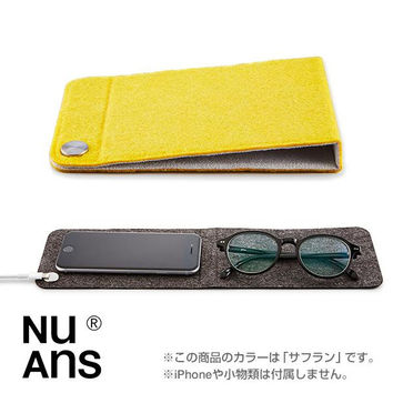 NuAns MAGMAT Foldable Mat with Cable Holder (Saffron)