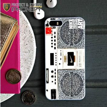 Nike Air Jordan Radio Boombox iPhone 5C Case|iPhonefy