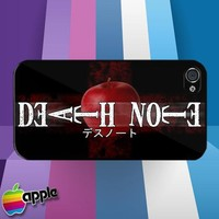 Death Note Japanese Anime Manga Apple Logo iPhone 4 or iPhone 4S Case