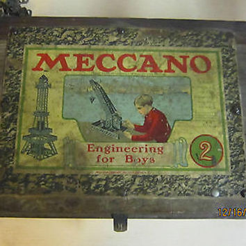 MECCANO ENGINEERING FOR BOYS ERECTOR SET
