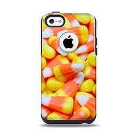 The Candy Corn Apple iPhone 5c Otterbox Commuter Case Skin Set