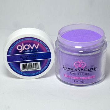 Glam and Glits GLOW ACRYLIC Glow in the Dark Nail Powder 2023 - ULTRA VIOLET