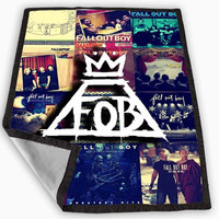 Fall Out Boy Collage Blanket for Kids Blanket, Fleece Blanket Cute and Awesome Blanket for your bedding, Blanket fleece *