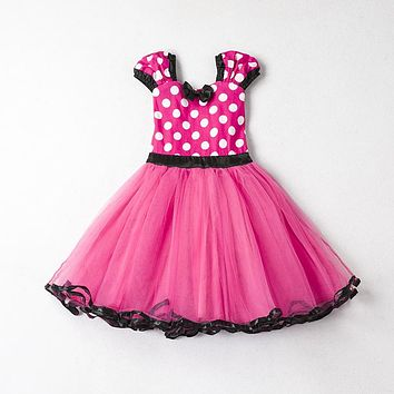 Baby Girl Christening Dresses Girl Kids First Birthday Party Toddler Baptism Outfit Animal pattern Halloween Costume