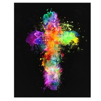 5D Diamond Painting Abstract Cross