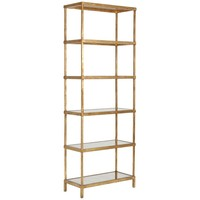 Antique Gold Etagere