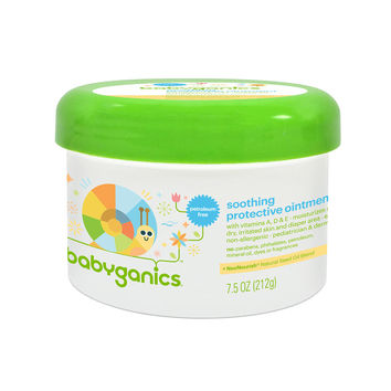 Babyganics Non-Petroleum Soothing Protective Ointment- 7.5 Ounce Tub