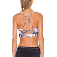 Body Language Lacey Sports Bra in Marble