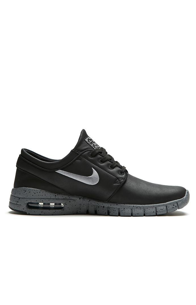 size 40 a9f9a 9bcd0 Nike SB Stefan Janoski Max L NYC Shoes - Mens Shoes - Black