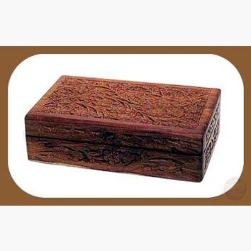 Floral Herb Trinket Box