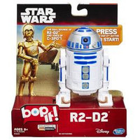Star Wars R2-D2 Bop It! Game with Authentic Droid SFX and Real Voice of C-3PO Actor