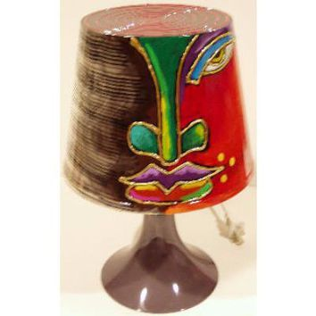 Hand Painted Lamp #14