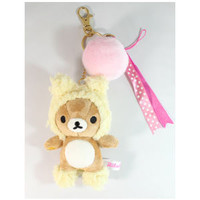 Rilakkuma Cosplay Plush Key Chain