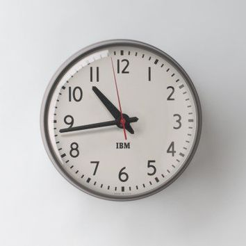 "1960s IBM 13.5"" Standard Issue Clock 