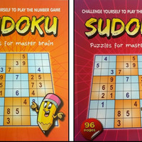 "SUDOKU BOOK 10.5""""x 8"""" 96 PAGES Case Pack 48"