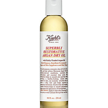Kiehl's Superbly Restorative Argan Dry Oil - 8.0-oz. Argan Dry Oil