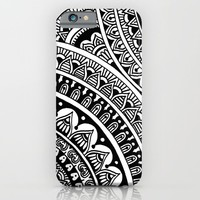 Black & White Boho iPhone & iPod Case by Sarah Oelerich