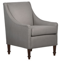 Holmes Armchair, Gray, Accent & Occasional Chairs