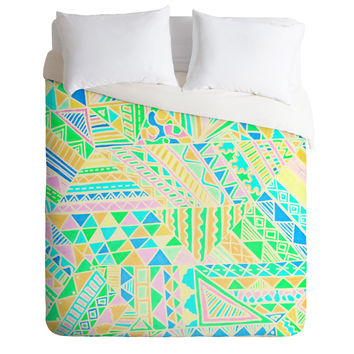 Lisa Argyropoulos Wild One Two Duvet Cover