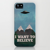 X-Files Twin Peaks Mashup iPhone & iPod Case by Justin Cybulski
