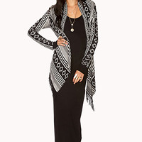 FOREVER 21 Cozy Southwestern Pattern Cardigan