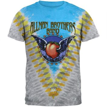 Allman Brothers - Flying Peach Tie Dye T-Shirt