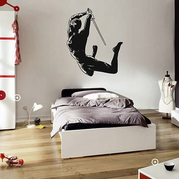 kik638 Wall Decal Sticker Japanese ninja mercenary killer living room sleeping teenager