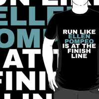 Greys Anatomy: Run Like Ellen Pompeo by drmedusagrey