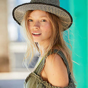 Aerie Panama Hat, True Black
