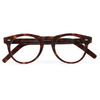 Cutler and Gross - Round-Frame Matte-Acetate Optical Glasses | MR PORTER