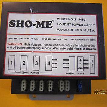 VEHICLE STROBE CONTROLLER POWER SUPPLIES SELLING SEPARTLY  2 TOTAL