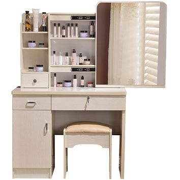 Dresser bedroom make-up table simple modern small mini-size vanity