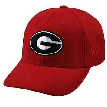 Licensed Georgia Bulldogs NCAA One Size One Fit Wool Hat Cap UGA Top of the World 263809 KO_19_1