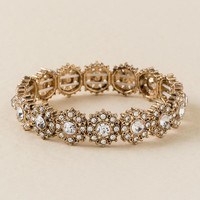 Kimberly Flower Stretch Bracelet