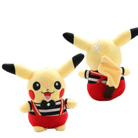 Pokemon Pikachu Cute Outfit Kawaii Plush Kids Toy